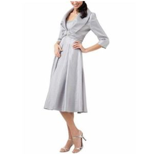 Adrianna Papell dress and jacket